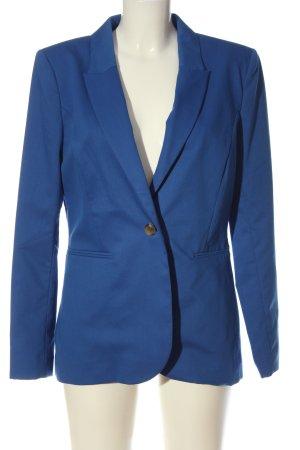 H&M Kurz-Blazer blau Elegant