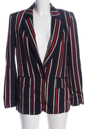 H&M Short Blazer striped pattern business style