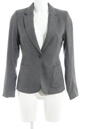 H&M Korte blazer antraciet zakelijke stijl