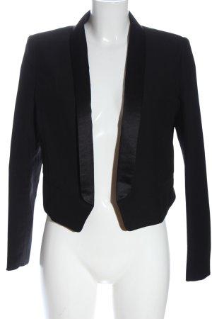 H&M Kurz-Blazer schwarz Elegant
