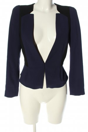 H&M Short Blazer blue-black business style