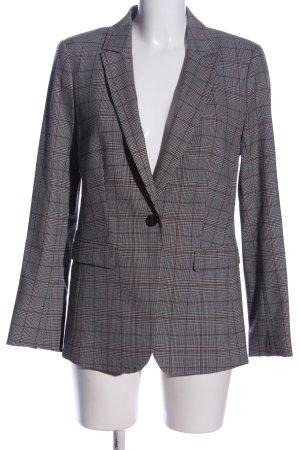 H&M Kurz-Blazer Allover-Druck Business-Look