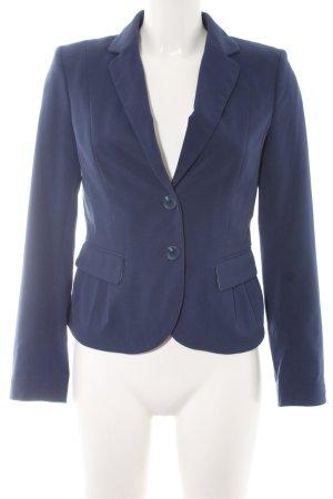 H&M Korte blazer blauw casual uitstraling