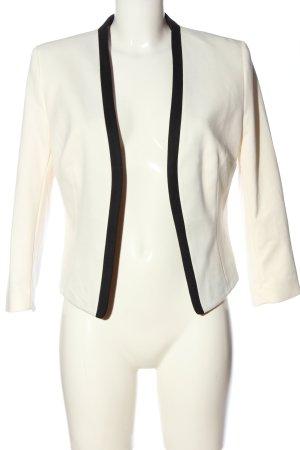 H&M Blazer court blanc-noir élégant