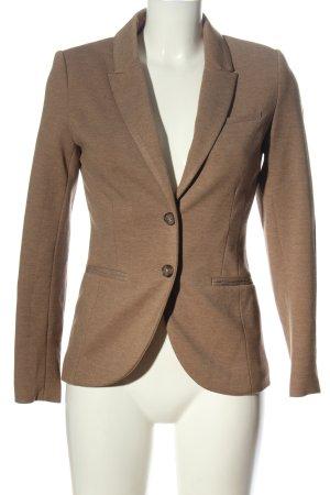 H&M Kurz-Blazer braun meliert Business-Look