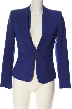 H&M Kurz-Blazer blau Business-Look