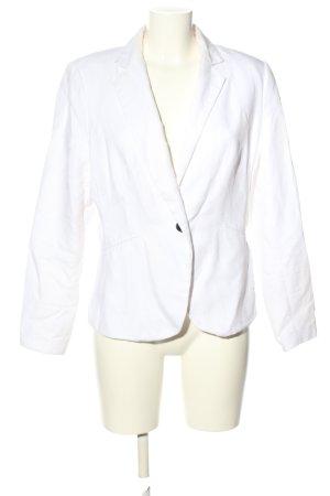 H&M Krótka marynarka biały W stylu biznesowym