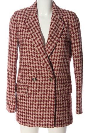 H&M Marynarska kurtka czerwony-kremowy W stylu casual