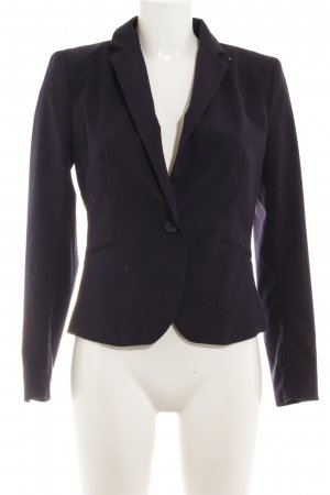 H&M Kurz-Blazer dunkelblau Business-Look