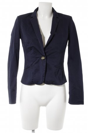H&M Kurz-Blazer dunkelblau Casual-Look