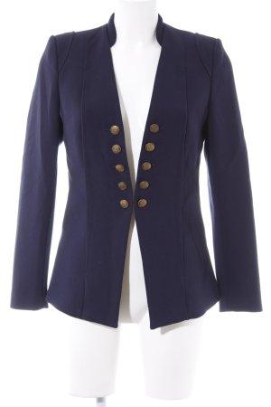 H&M Kurz-Blazer dunkelblau Elegant