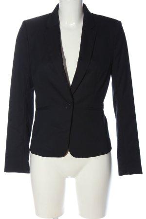 H&M Krótka marynarka czarny W stylu biznesowym