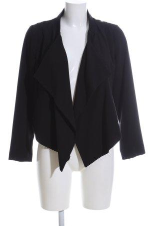 H&M Kurz-Blazer schwarz Casual-Look