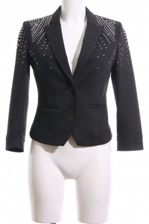 H&M Kurz-Blazer grau Business-Look