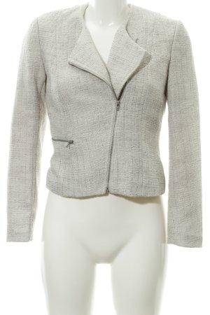 H&M Kurz-Blazer hellbeige-silberfarben Business-Look