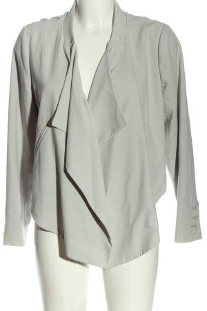 H&M Kurz-Blazer hellgrau Casual-Look