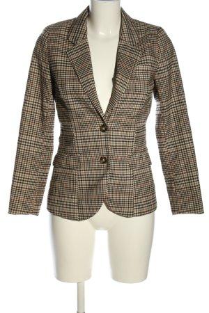 H&M Kurz-Blazer Karomuster Business-Look