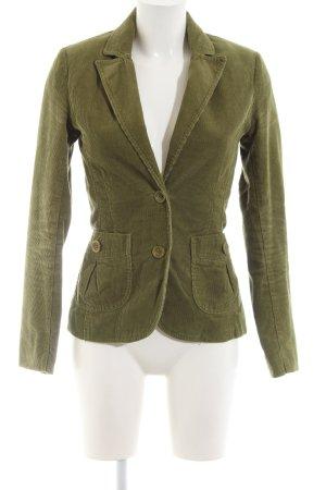 H&M Kurz-Blazer khaki Business-Look