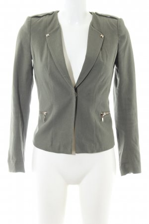 H&M Kurz-Blazer khaki Business-Look