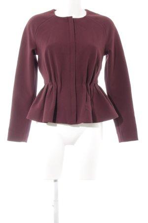 H&M Kurz-Blazer purpur schlichter Stil