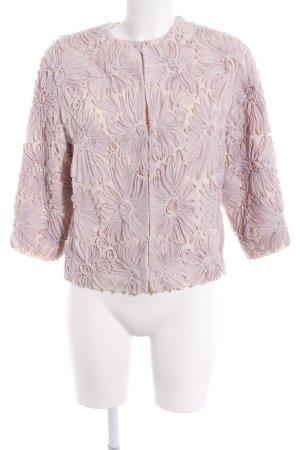 H&M Kurz-Blazer rosé extravaganter Stil