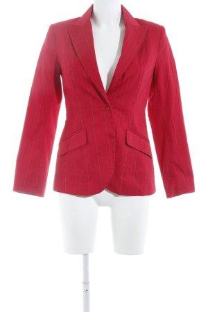 H&M Kurz-Blazer rot-weiß Casual-Look