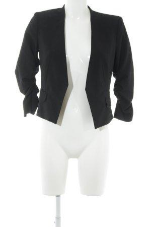 H&M Kurz-Blazer schwarz