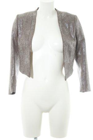 H&M Short Blazer silver-colored-bronze-colored elegant