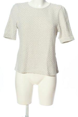 H&M Strickshirt hellgrau meliert Casual-Look