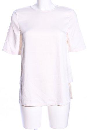 H&M Kurzarm-Bluse wollweiß Casual-Look