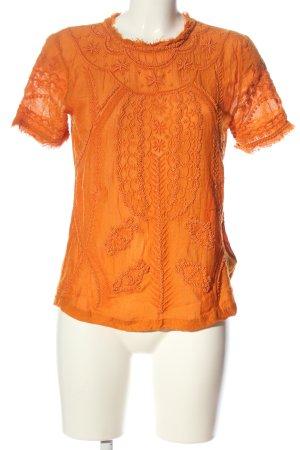 H&M T-Shirt hellorange Casual-Look