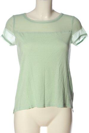 H&M Kurzarm-Bluse grün Casual-Look