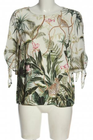 H&M Camicetta a maniche corte stampa integrale stile casual