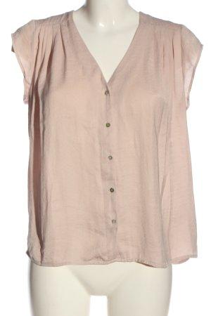 H&M Kurzarm-Bluse nude Elegant