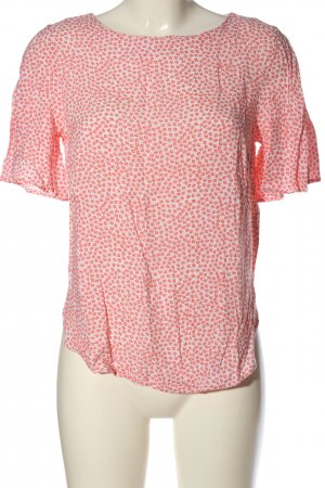 H&M Blouse Shirt white-red allover print casual look
