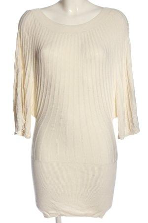 H&M Strickkleid wollweiß Elegant