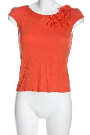 H&M Kurzarm-Bluse hellorange Casual-Look