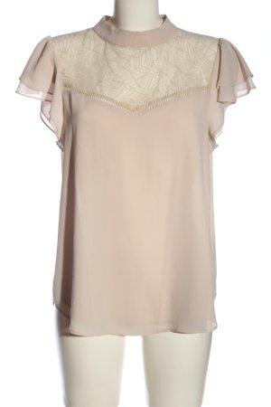 H&M Kurzarm-Bluse wollweiß Elegant