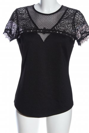 H&M Short Sleeved Blouse black business style