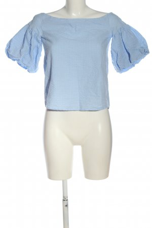H&M Short Sleeved Blouse blue casual look