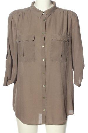 H&M Short Sleeved Blouse brown