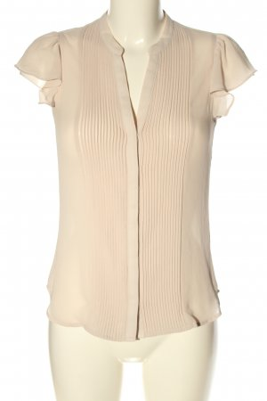 H&M Kurzarm-Bluse creme Elegant