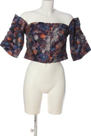 H&M Camicetta a maniche corte stampa integrale elegante