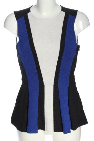 H&M Kurzarm-Bluse mehrfarbig Business-Look