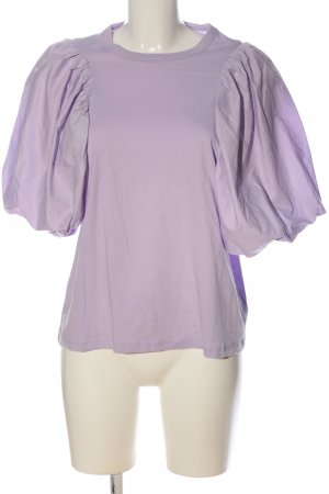 H&M Short Sleeved Blouse lilac business style