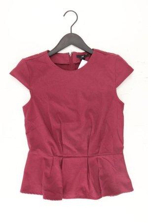 H&M Kurzarmbluse Größe 36 rot aus Polyester
