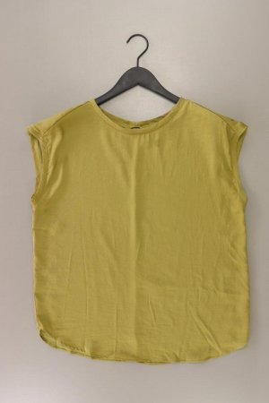 H&M Kurzarmbluse Größe 44 olivgrün aus Polyester