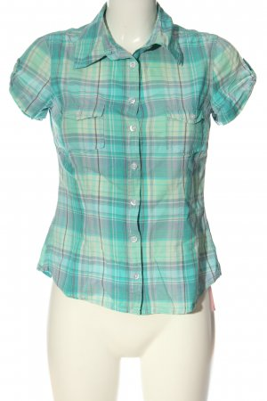 H&M Camisa de manga corta estampado a cuadros look casual