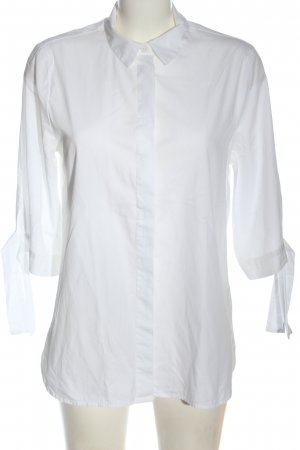 H&M Short Sleeve Shirt white business style