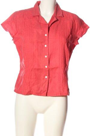 H&M Koszula z krótkim rękawem czerwony W stylu casual